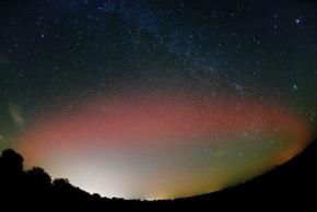 NG aurora over Kansas