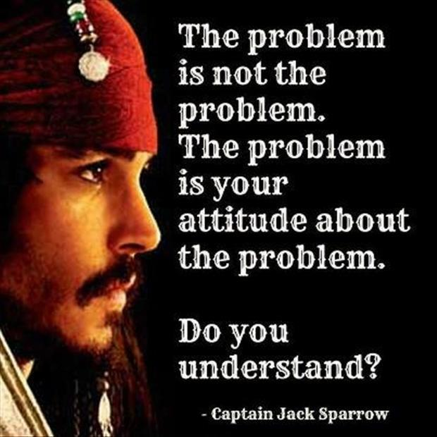 the problem and attitude