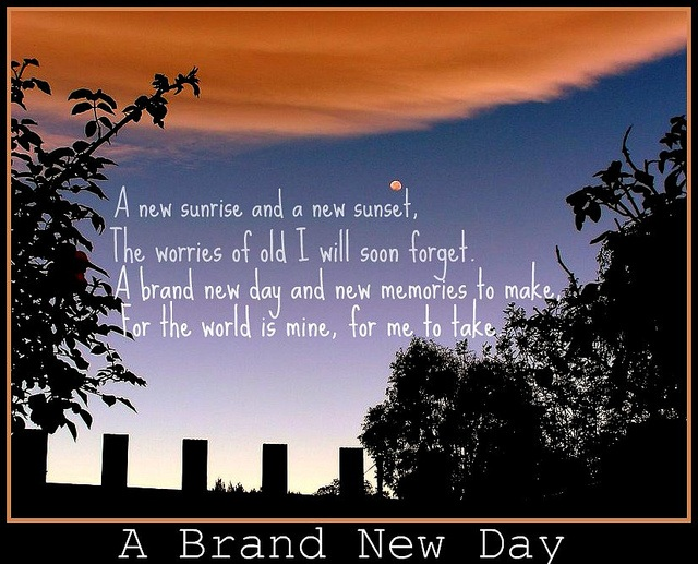 brand new day quote